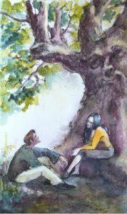 Медитация на старшем аркане Таро - Влюблённые